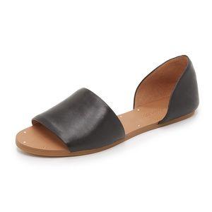 Madewell Thea Sandals  $98.00 Color: True Black